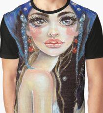 Lenore & the Three Eyed Raven, Original art, PopSurrealism Graphic T-Shirt