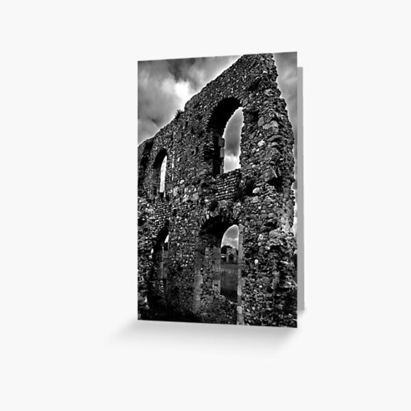 here there be ruins! Greeting Card