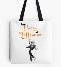 Jack wierd world tshir halloween Tote Bag