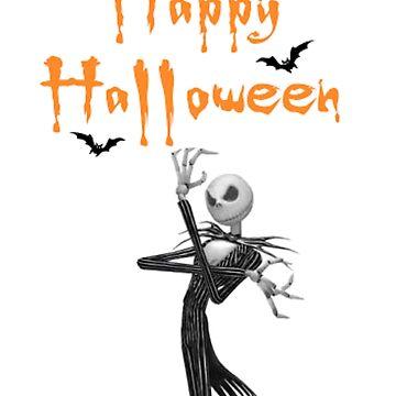 Jack wierd world tshir halloween by manatti