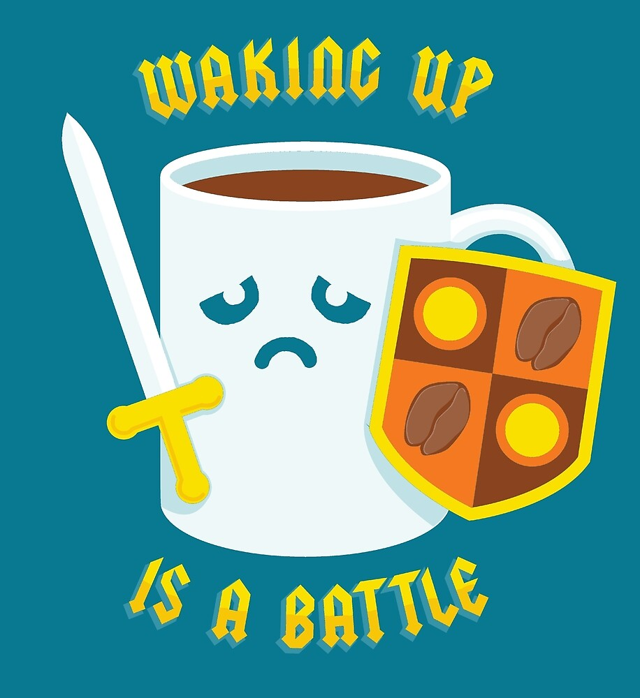 Morning Battle by vonplatypus
