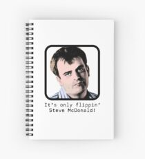 It's only flippin' Steve McDonald! Pop Art Spiral Notebook