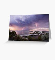 South Perth lightning Greeting Card