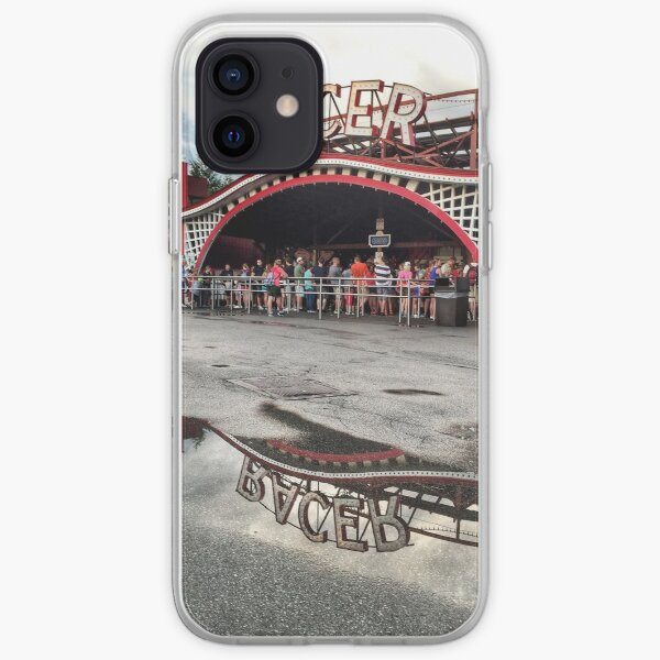 Kennywood Racer with reflection iPhone Soft Case