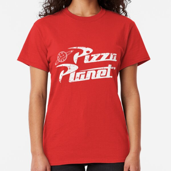 PIZZA PLANET MENS T SHIRT FUNNY TOY STORY RETRO CLASSIC GIFT TUMBLR GIFT JOKE