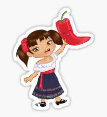 Chibi Chili Sticker