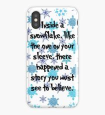 Snowflake Whos iPhone Case/Skin