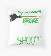 Halloween Photographer Throw Pillow