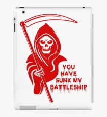 Bill & Ted - Death Battleship iPad Case/Skin
