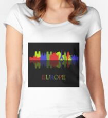 skyline europe Women's Fitted Scoop T-Shirt