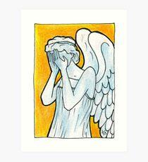 Weeping Angel 1 Art Print