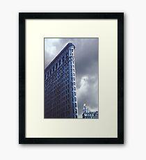 Blue Glow Flatiron Building Framed Print