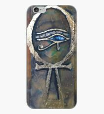 Ankh with the Eye of Horus iPhone Case