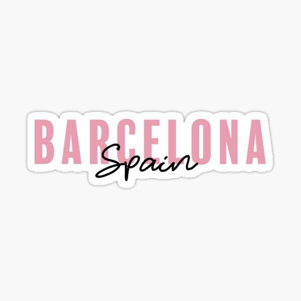 Barcelona, Spain Sticker