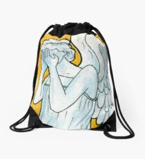 Weeping Angel 1 Drawstring Bag