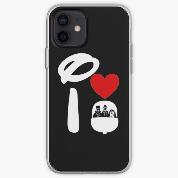 I Heart Haunted Mansion iPhone Soft Case