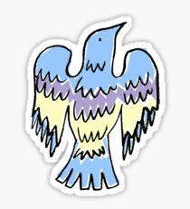 layer bird Sticker