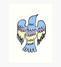 layer bird Art Print
