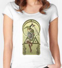The legfend of zelda - Link Women's Fitted Scoop T-Shirt