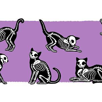 SkeleCats - Púrpura de kaenith