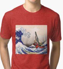 The legend of zelda - Wind waker Tri-blend T-Shirt