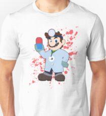 Dr. Mario (Blue Alt.) - Super Smash Bros T-Shirt