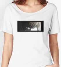 Light Yagami Eyes from anime Death Note Women's Relaxed Fit T-Shirt