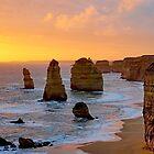 Coastal Sunset by Harry Oldmeadow