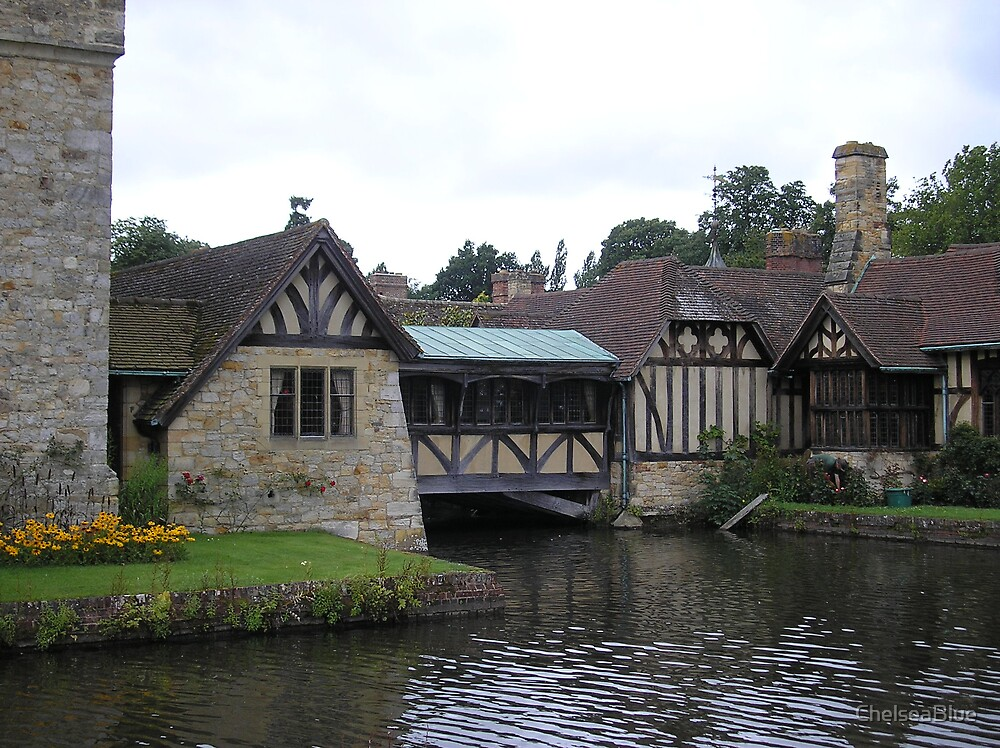Hever Castle - Tudor Cottages by ChelseaBlue