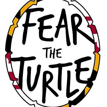 Fürchte die Schildkröte von mschmidtdesigns