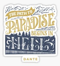 Path to Paradise Sticker