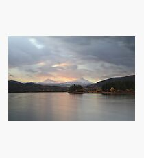 Lake Dillon in Fall #2 Photographic Print