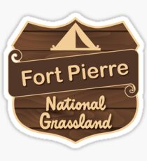 Fort Pierre National Grassland Sticker
