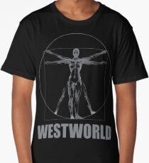 Westworld  Vitruvian Man Long T-Shirt