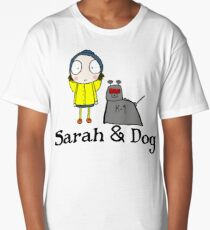 Sarah & Dog Long T-Shirt
