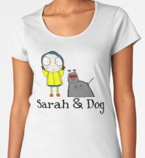 Sarah & Dog Women's Premium T-Shirt