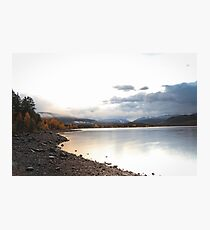 Lake Dillon in Fall #3 Photographic Print