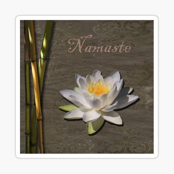 Namaste Lily Sticker