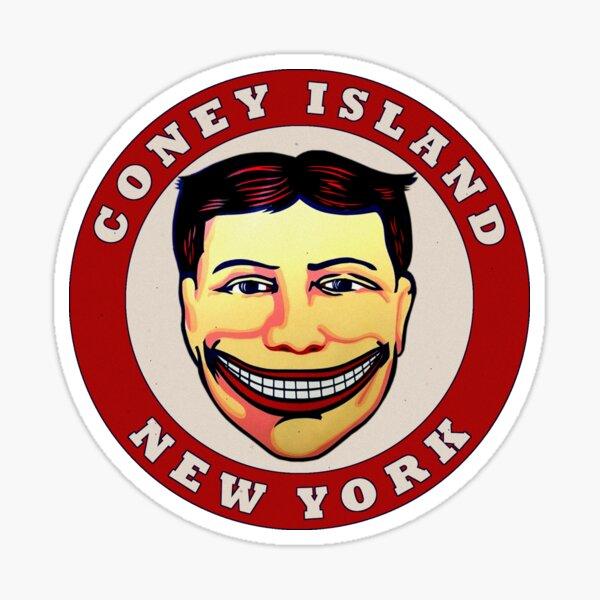 Coney Island New York Vintage Travel Decal Sticker