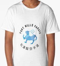 Port Hills Karate Long T-Shirt
