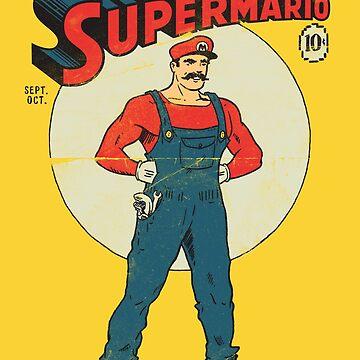 Super Mario de vomaria
