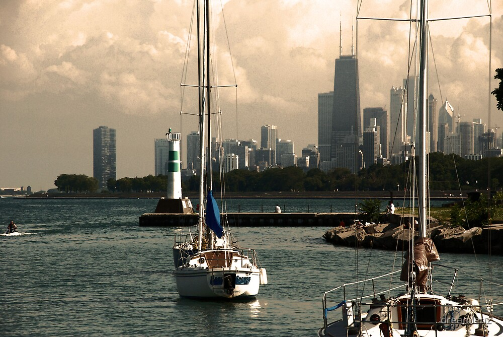 Chicago by dreamlenz