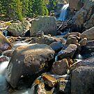 Alberta Falls by Gary Lengyel
