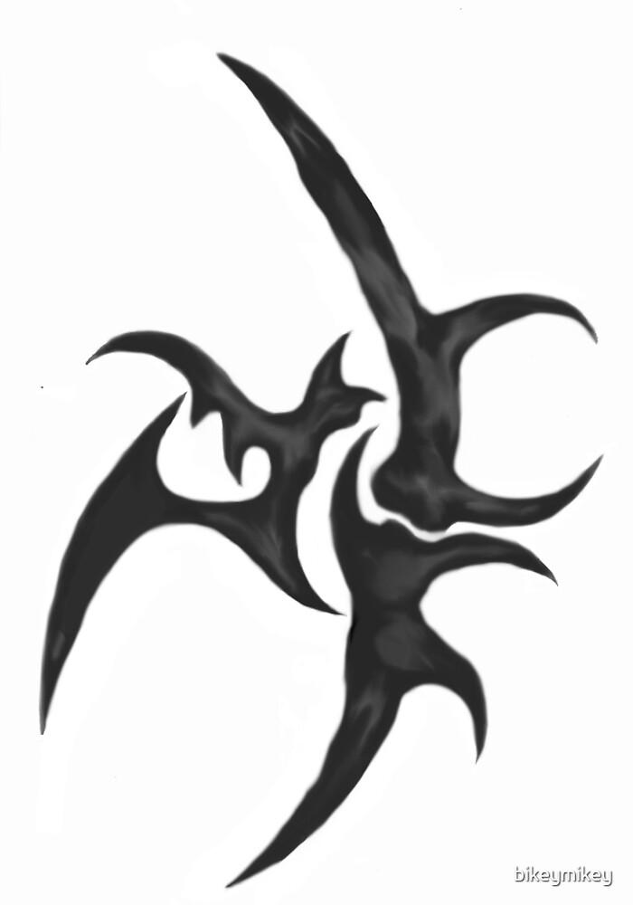 tribal tattoo design by bikeymikey