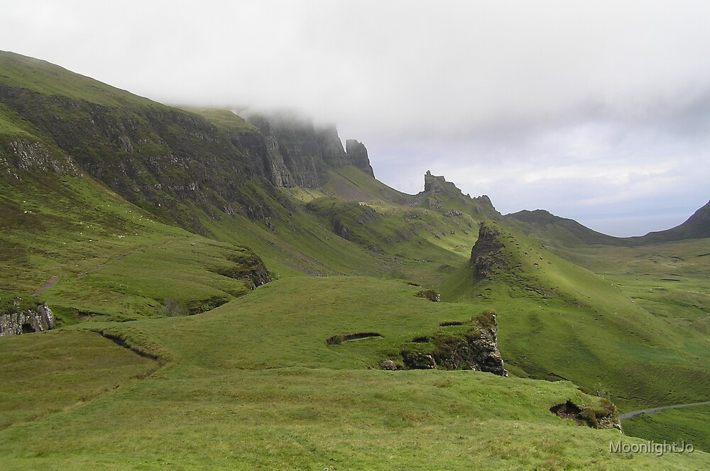 The Quiraing - The Top of the World by MoonlightJo