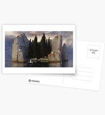 Isle of the Dead by Arnold Bocklin Postcards