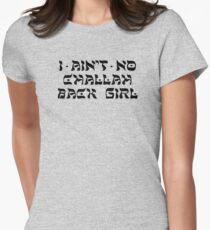 Challah Back Girl Women's Fitted T-Shirt