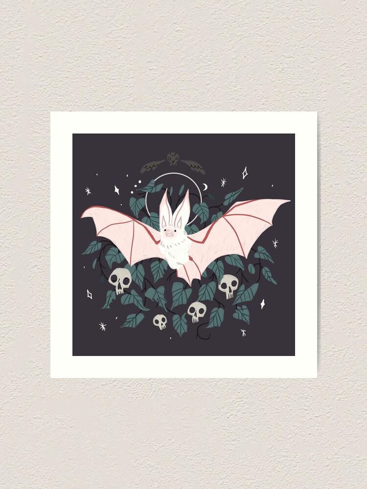Alternate view of Familiar - Desert Long Eared Bat Art Print