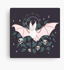 Familiar - Desert Long Eared Bat Canvas Print