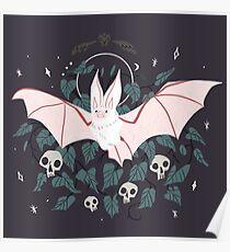 Vertraut - Wüsten-Langohr-Fledermaus Poster